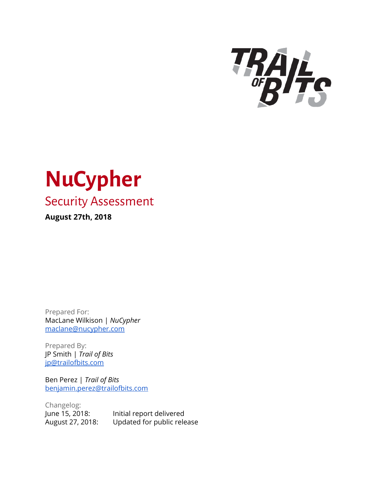First page of the 'nucypher' PDF